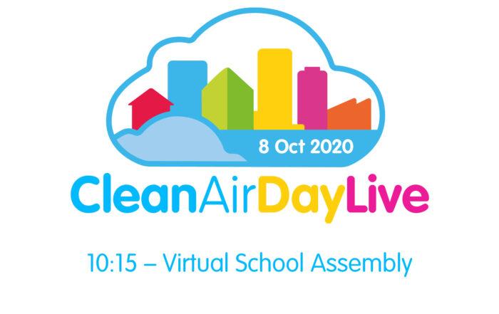 Clean Air Day Live – Virtual School Assemble