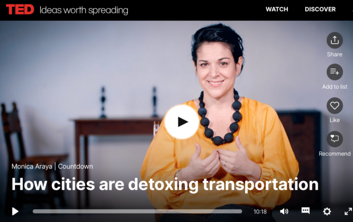 Monica Araya_How cities are detoxing transportation