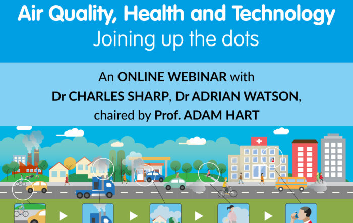 Air quality, health and technology webinar