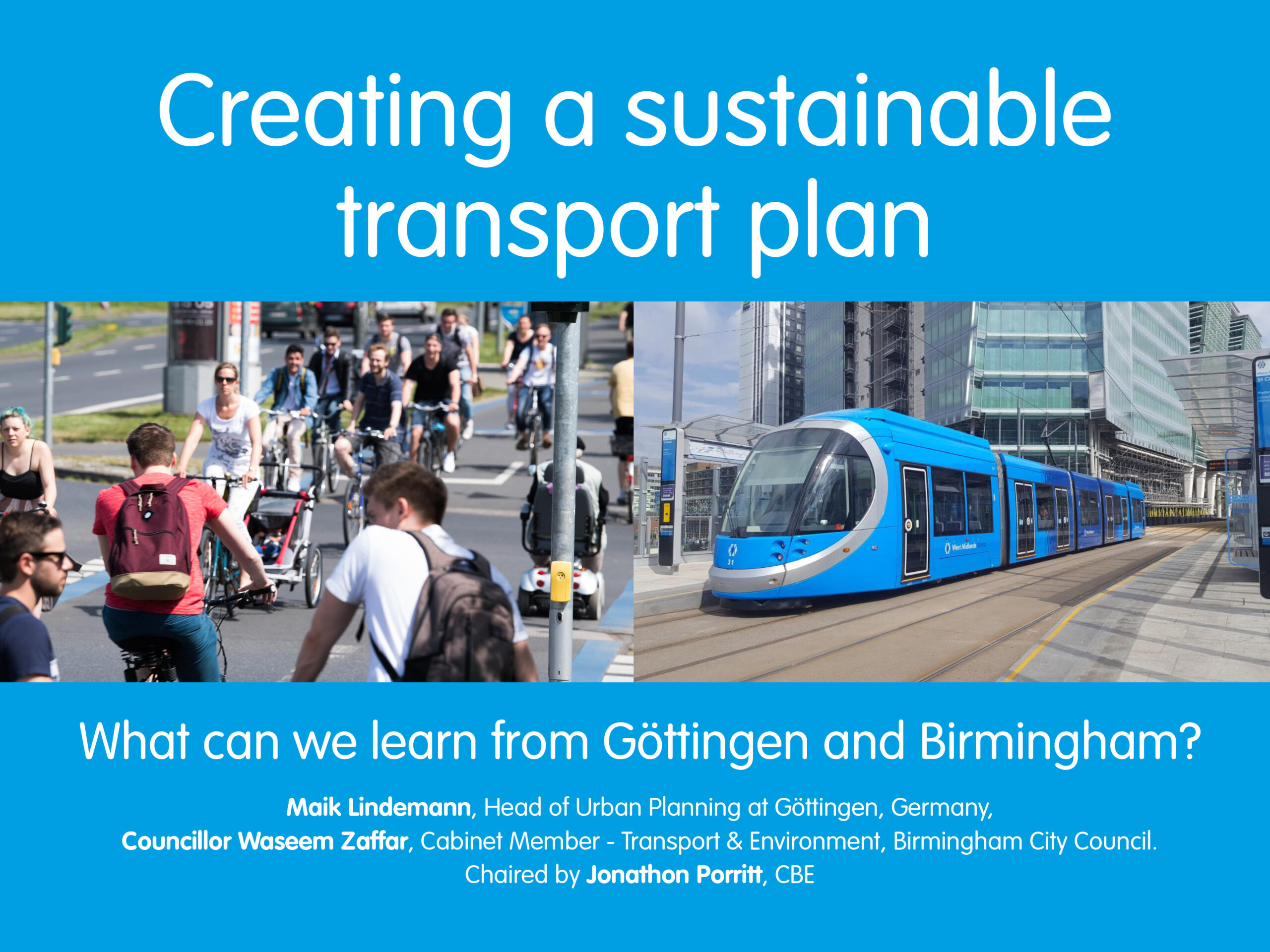 Creating a sustainable transport plan